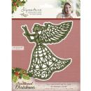Crafters Companion Sara Signature Traditional Christmas Collection - Guardian Angel Die